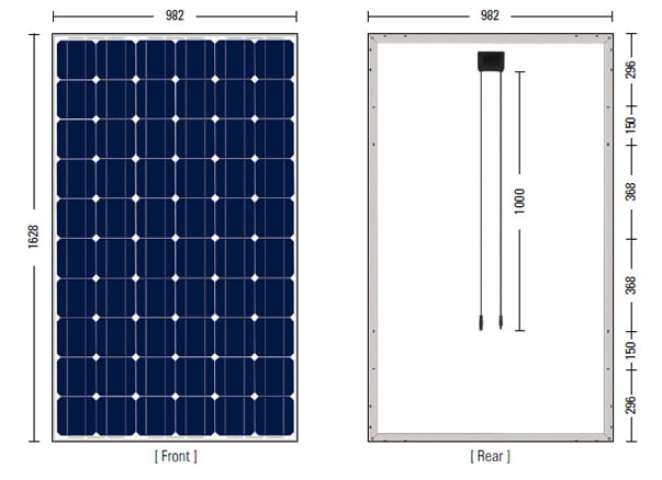 Guide To Solar Panel Size How Much Do You Need For Own