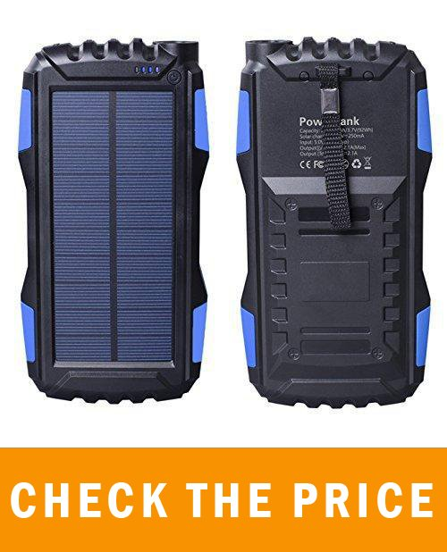 RAVPower 25000mAh Solar Portable Charger