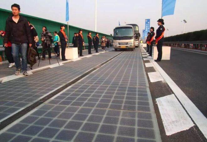 China's 'solar roadways