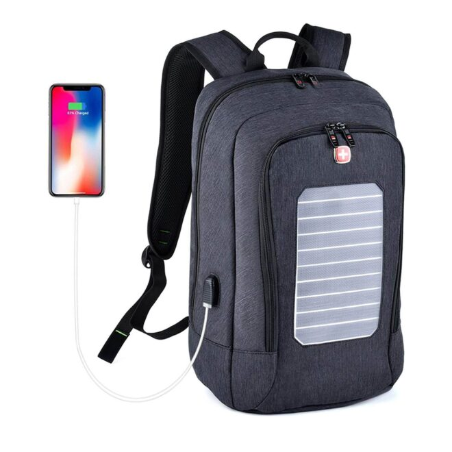 Fanspack Solar Powered Backpack