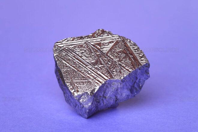 Pure crystalline silicon