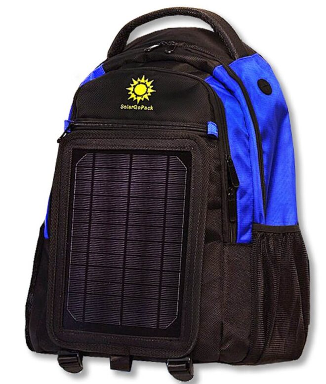 SolarGoPack backpack
