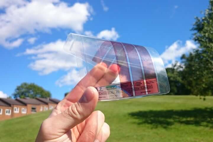 The new solar-panels technology