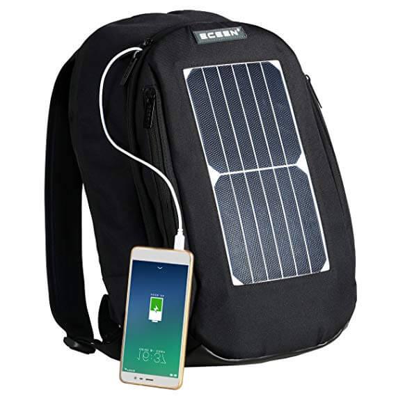 4. ECEEN Solar Panel Backpack