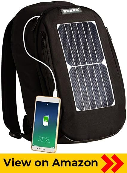 ECEEN Solar Powered Backpack