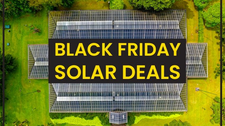 The Best Black Friday & Cyber Monday Solar Deals 2020 1